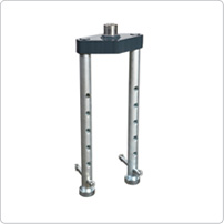 Accessories for pit jacks, Integrated safety stand S200