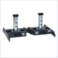 Accessories for pit jacks, Telescopic support bridge ABT