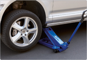 Axle stand for vans