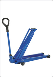High lifter with long reach, ideal for cars with low clearance