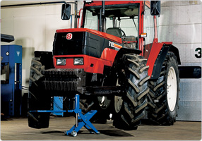 Jack for fork lifts – also suitable for agriculture