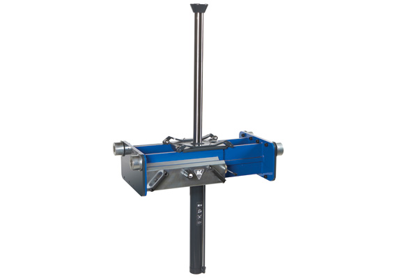 Standard air hydraulic single ram pit jack