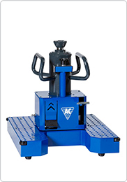 Air hydraulic floor pit jack with telescopic cylinder