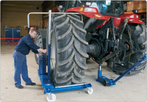 Chariots porte roues wt1500 ac hydraulic a s - Chariot porte roue tracteur ...