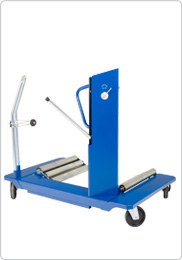Hydraulic wheel trolley for tractors, agricultural and contractors