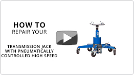 Repair your transmission jack with pneumatically controlled high speed VLT6