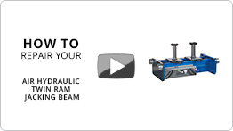 How to repair your air hydraulic twin ram jacking beam