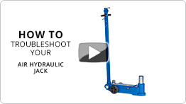 Video Troubleshooting your air hydraulic jack