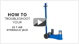 Video Troubleshooting your 65 t air hydraulic jack