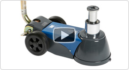 Video of Portable air hydraulic jack