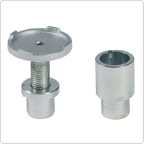 Accessories for jacking beam, Adjustable saddle and Extension FSD6 / FSD7