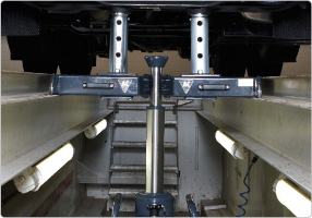 Telescopic support bridge ABT, accessory
