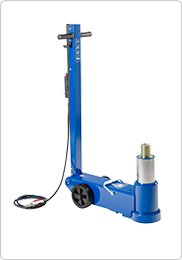 Air hydraulic aircraft jack