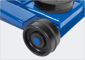 Noiseless wheels offers maximum sorface protection