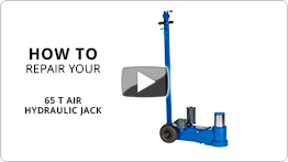 Video How to repair your 65 t air hydraulic jack