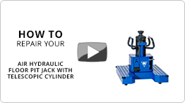 How to repair your air hydraulic floor pit jack