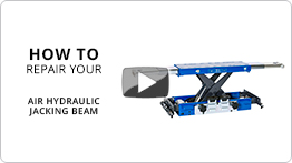 Video How to repair your air hydraulic jacking beam