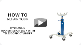 How to repair your hydraulic telescopic transmission jack VLT12
