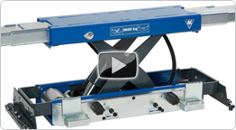 Video of Automatic air hydraulic jacking beam